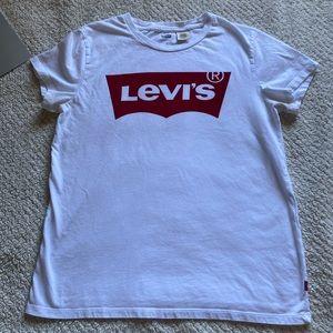 Levi's White Logo Perfect Tee